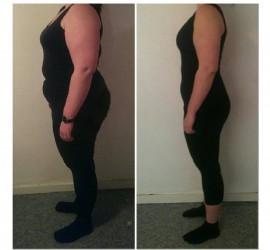 Camillas vægttab