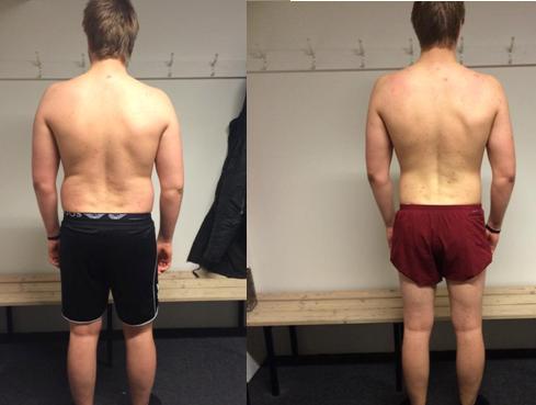 12 ugers vægttab bagfra