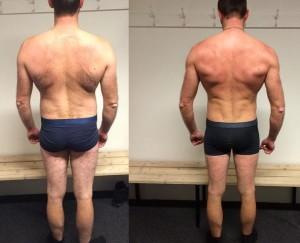 Jacobs vægttab bagfra på 12 uger