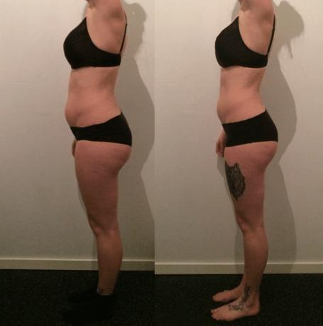 Louise's vægttab – 10 uger m. personlig træning