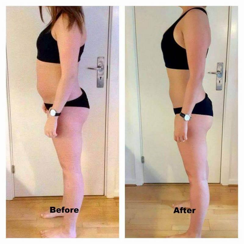 Anne vægttab fra siden – 8 uger online forløb