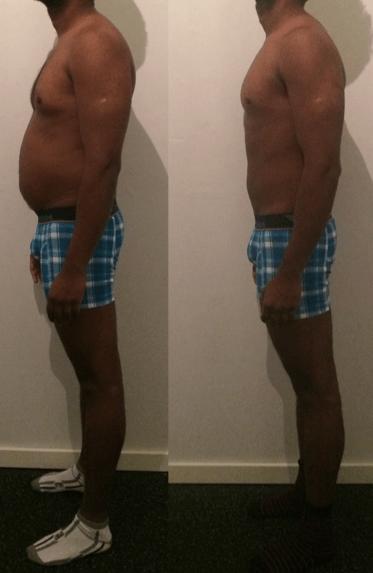 Prasath's vægttab – 9 uger m. personlig træning