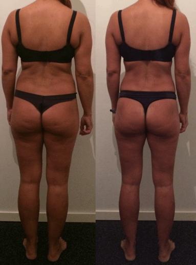 Jane's opstramning - 9 uger m. personlig træning