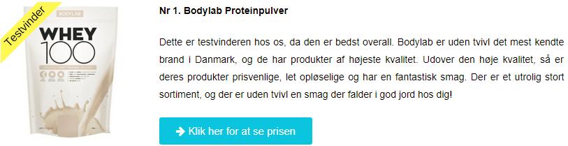 Bodylab proteinpulver